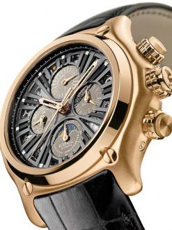 Luxury men watch - Gold edition